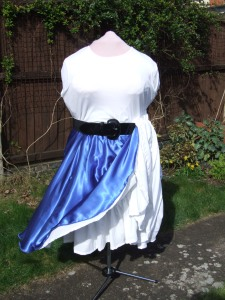 circle skirt and petticoats