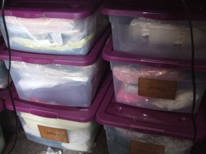 fabric tubs